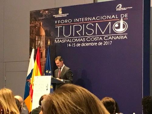Fòrum Internacional de Turisme - SM el Rei Felip VI
