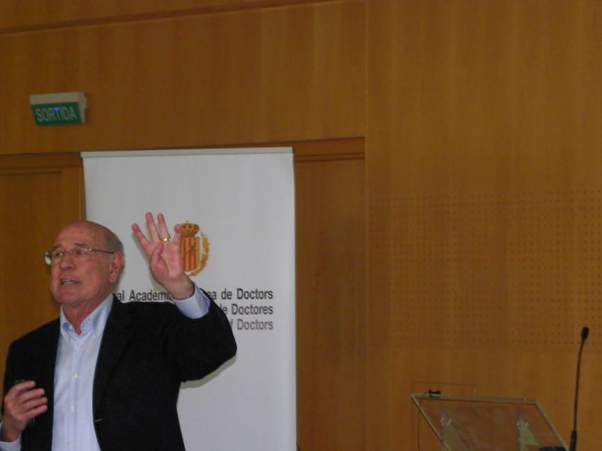 Conferencia de Jaume Llopis en Vichy Catalán