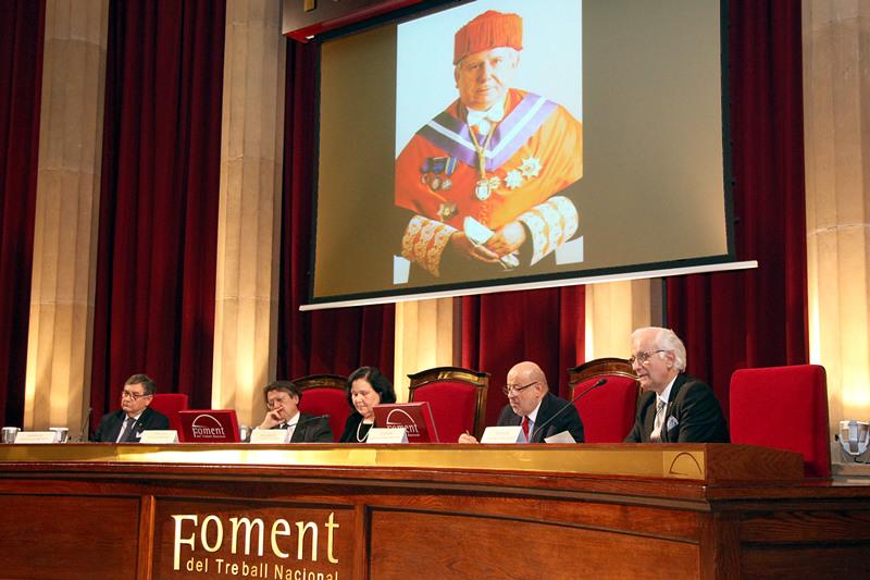 El Dr. Joaquim Gironella recordó al Dr. Josep Llort (EPD)