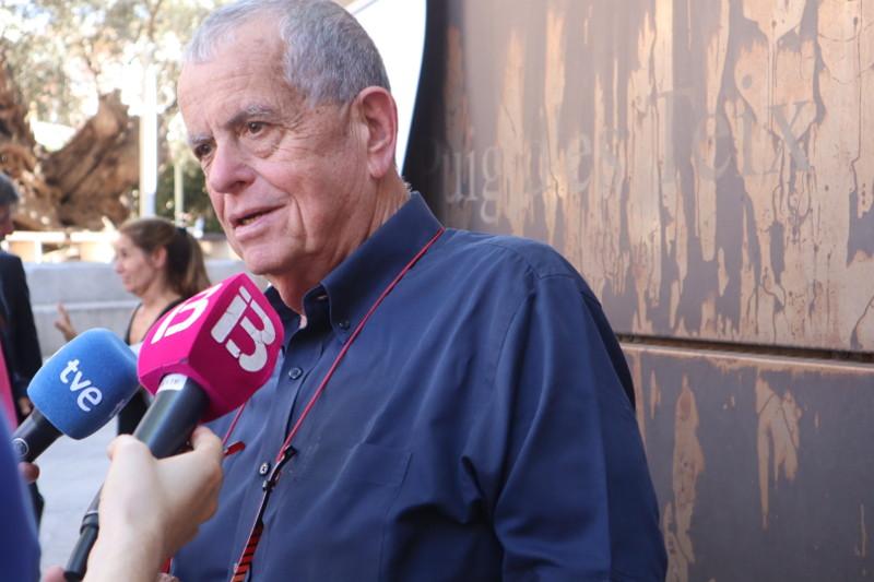 Aaron Ciechanover - rueda de prensa en Valldemossa, Mallorca