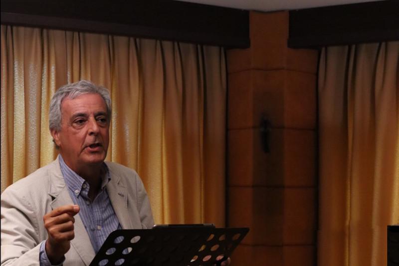 """El Dr. Juan Carlos García Valdecasas en su ponencia """"La donación inter vivos a propósito del caso Abidal"""""""