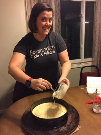cheesecake-making