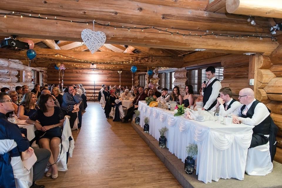 Blush Pink And Blue Polish Country Lodge Wedding