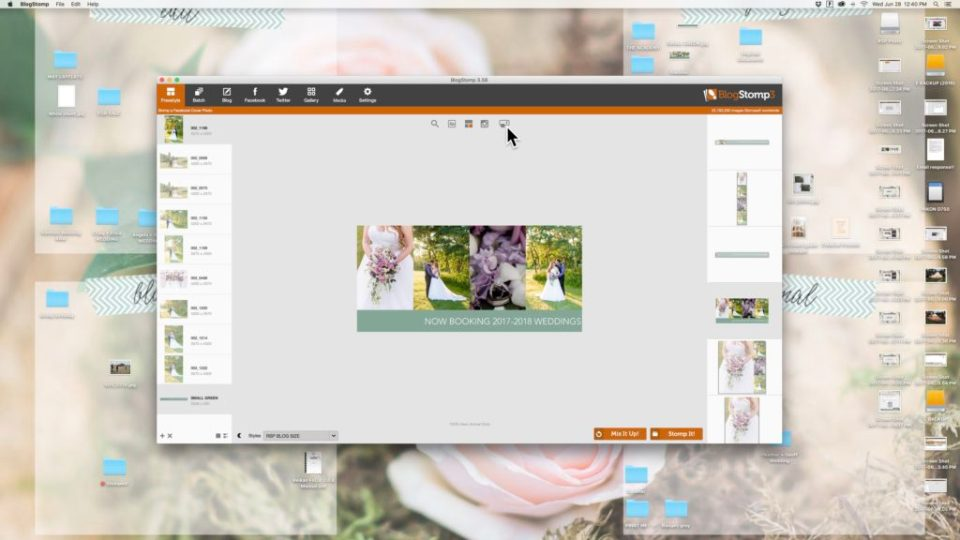 BlogStomp3- Creating a Facebook Cover Photo in 3 minutes-How to make a facebook timeline cover in BlogStomp
