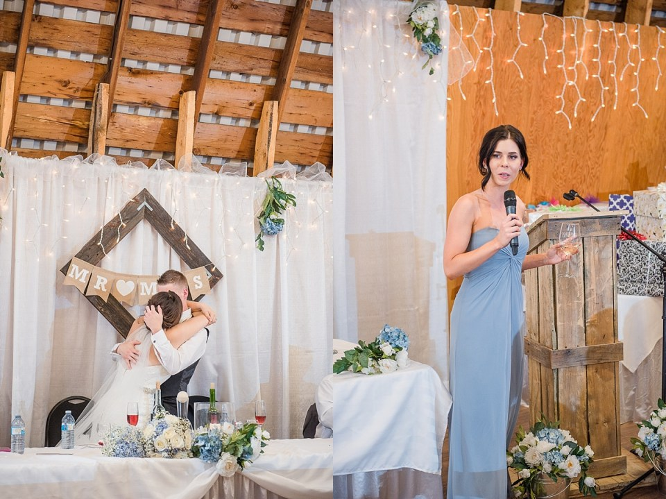Big Red Barn Wedding | Lacombe Photographers | Blue and White Wedding Inspiration | Red Deers best wedding photographer | Raelene Schulmeister Photography