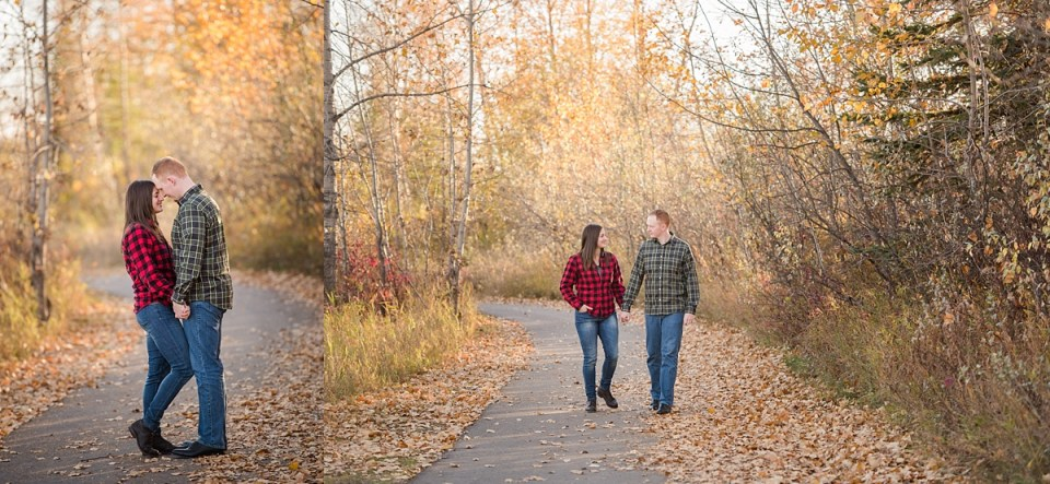 McKenzie Trails Engagement Photos, Red Deer Photographers