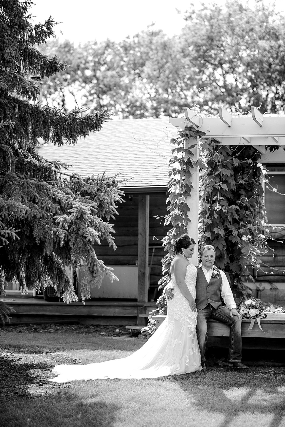 A Wedding at a Country Acreage | Red Deer Photographers | Raelene Schulmeister Photography | Rustic country wedding | Second Wedding | Getting married with grown up children | Blended Family Wedding