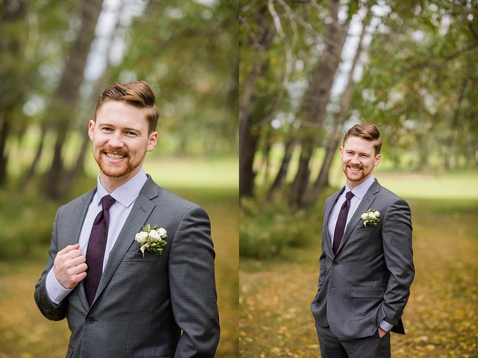 Cottonwood Golf and Country Club Wedding | Calgary Wedding Photographers | Fall Wedding at Cottonwood
