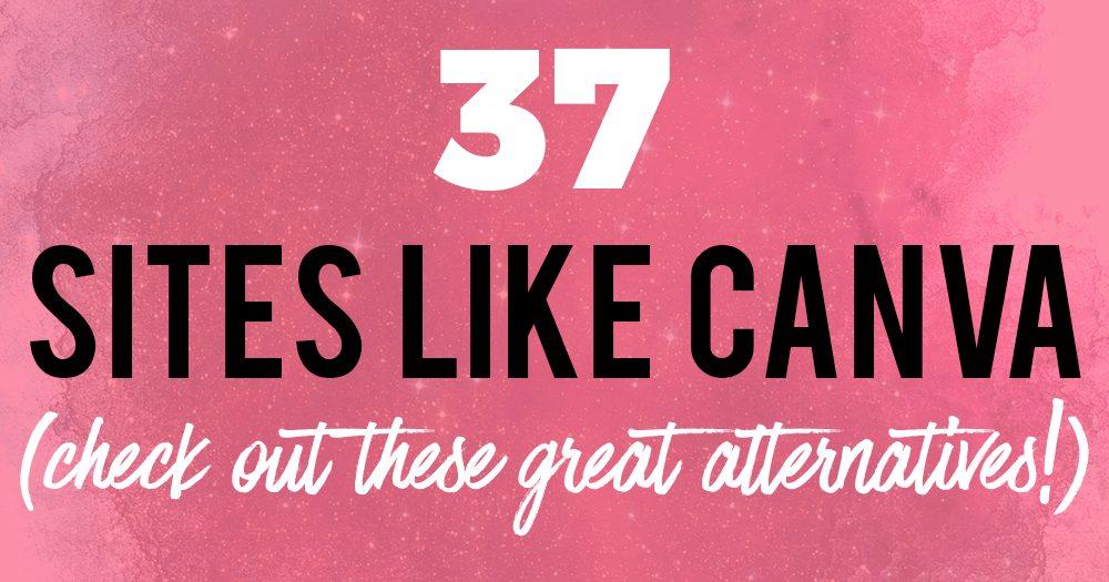 37 sites like canva