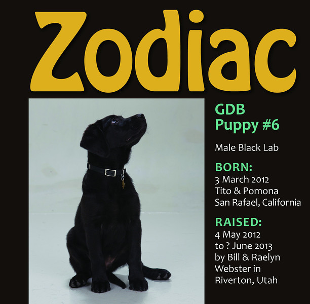 Title page for Zodiac's Book
