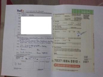 DVD FedEx to Busan 2