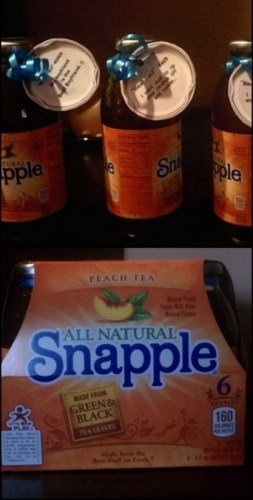 DIY Snapple Lid Project // Gift for Husband/Boyfriend