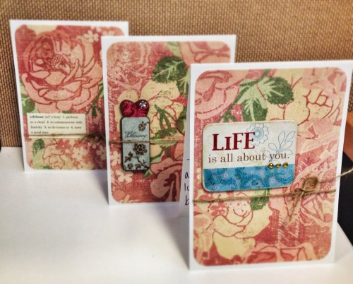 Easy DIY Cards for life love