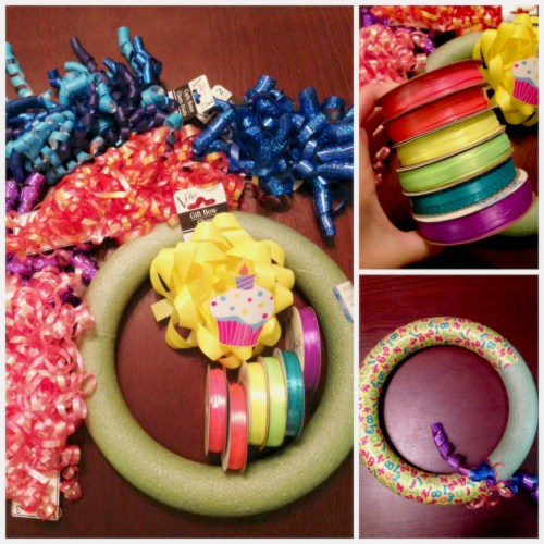 DIY Birthday Wreath