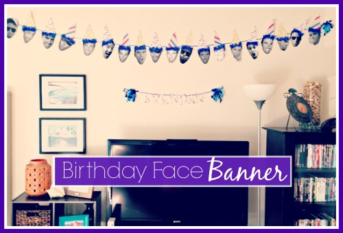 Birthday Hat Banner // DIY // Birthday Decorations