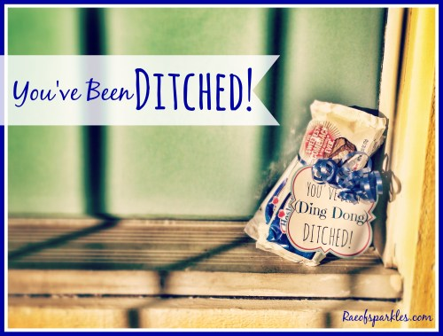 Ding Dong Ditch // Free Printable // Hostess Ding Dong Treats