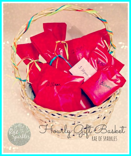 Hourly Gift Basket; Gift Basket Ideas