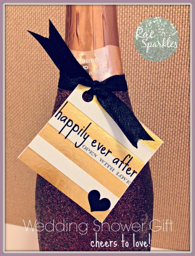 Sparkle Wine or Champagne Bottle Gift