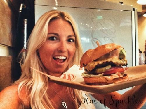 Rae of Sparkles // Birthday Cheeseburger