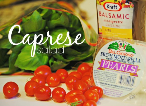 Easy Caprese Salad Ingredients