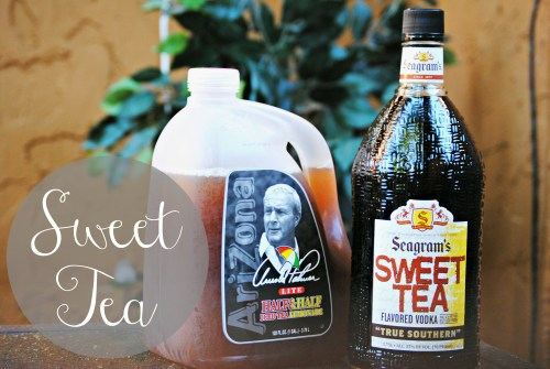 Summer Sweet Tea // Adult Sweet Tea Recipe