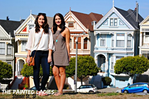 The Painted Ladies, Steiner St. San Francisco