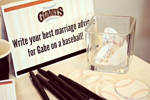 Wedding Shower Idea // Best Marriage Advice