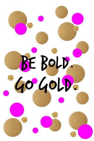 Be Bold. Go Gold. September is Childhood Cancer Awareness Month