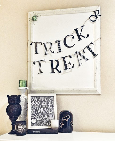 Halloween Trick or Treat Decorations
