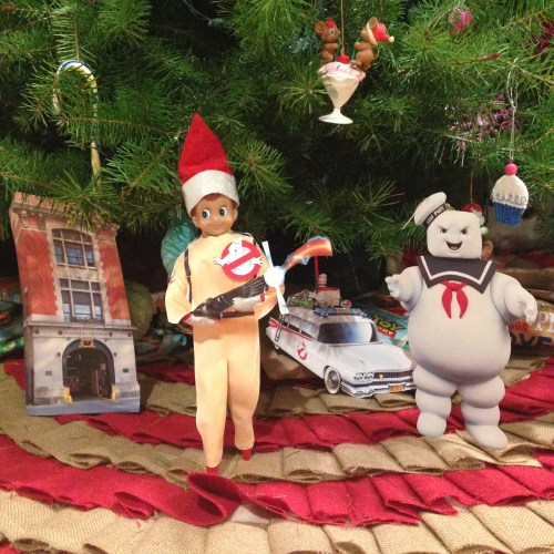 Elf on the Shelf - Ghostbusters