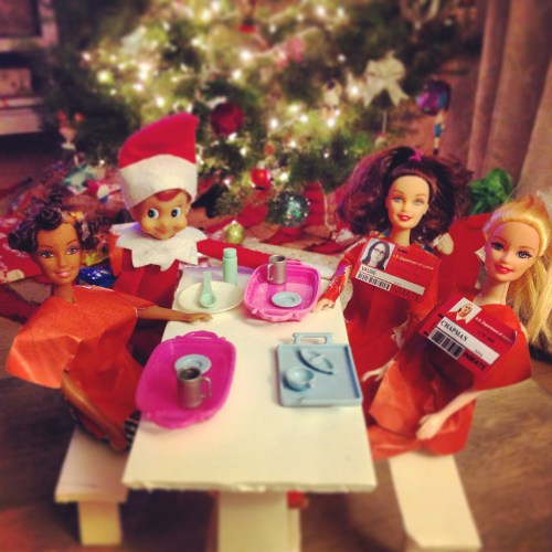 Elf on the Shelf - Orange is the New Black