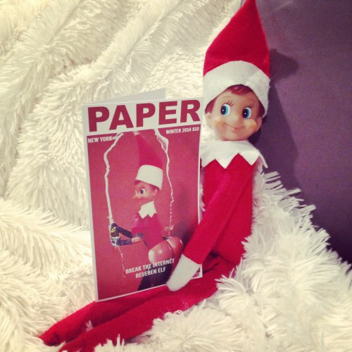 Elf on the Shelf - Paper Magazine Kim Kardashian