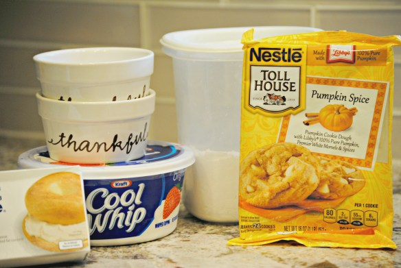 Ingredients for Easy Pumpkin Cheesecake