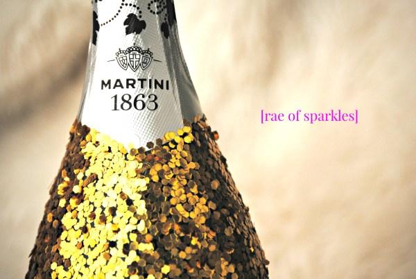 Gold Glitter Bottle  How To Make