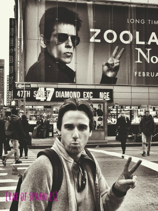 Rae of Sparkles Zoolander Sign