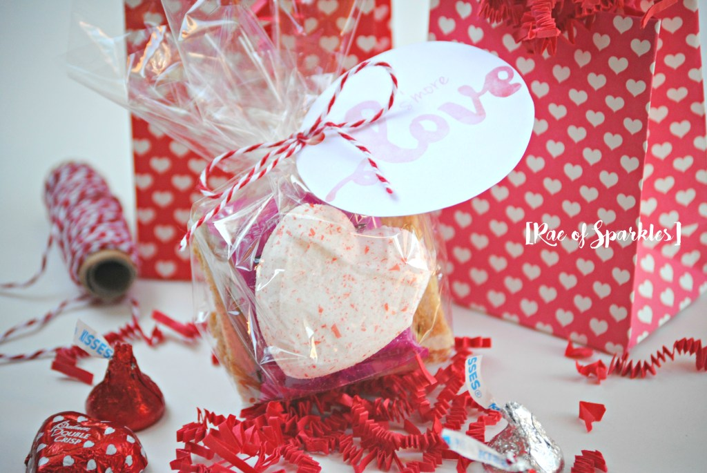 Smore Valentine Treats - Free Printable
