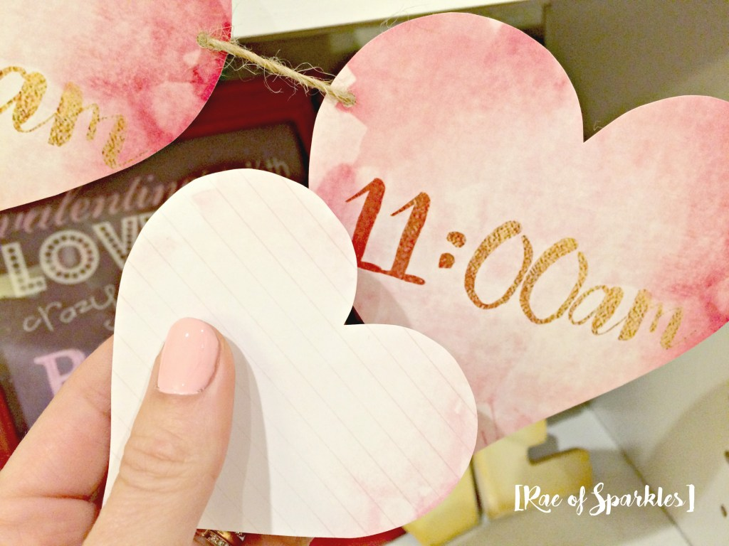 Valentine's Day Banner - Free Printable