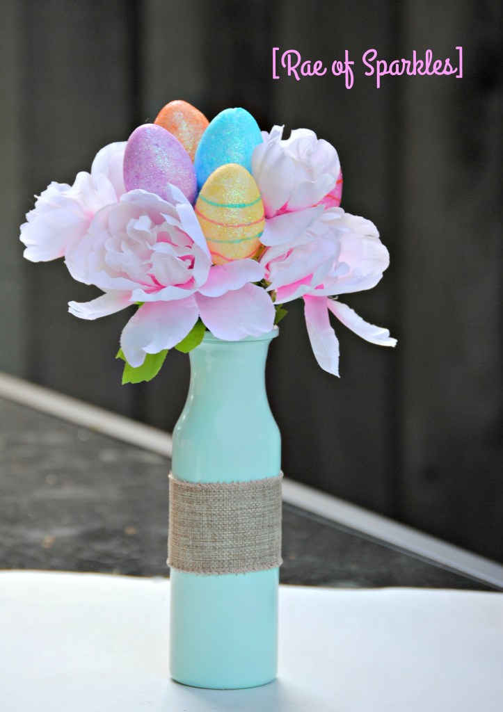 Dollar Tree Easter Vase