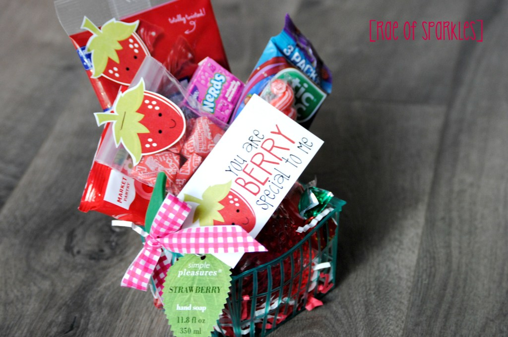 Strawberry Gift Basket - You are Berry Special to Me!