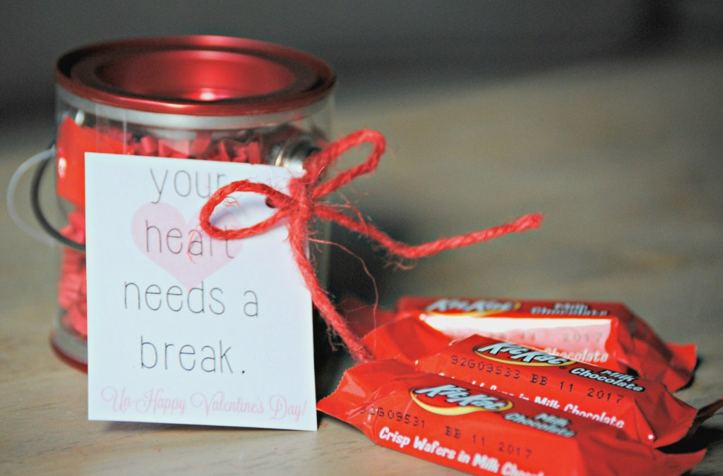 Do you know someone whose heart needs a break Anti-Valentine's Day Gift!