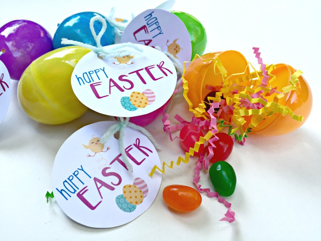 DIY Easter Egg Favors - Free Printable