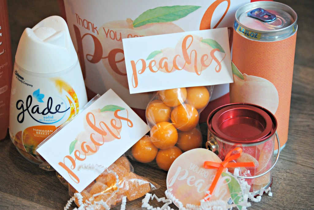 Peach Gift Basket Ideas