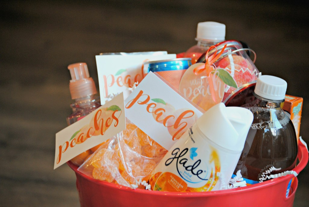 You're a Peach - Thank you Gift Basket