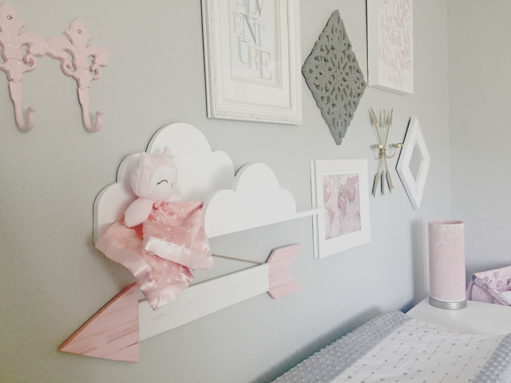 Adventure Theme Travel Nursery Baby Girl