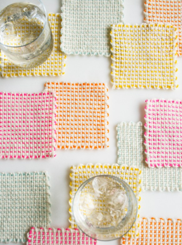 purl bee coasters