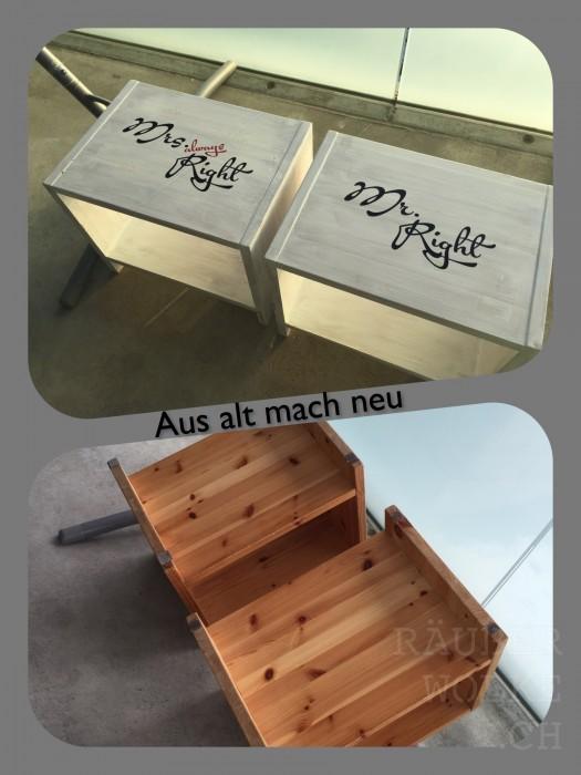 Aus alt mach neu - Upcycling // Raeuberwolke.ch - Lebe bunt.