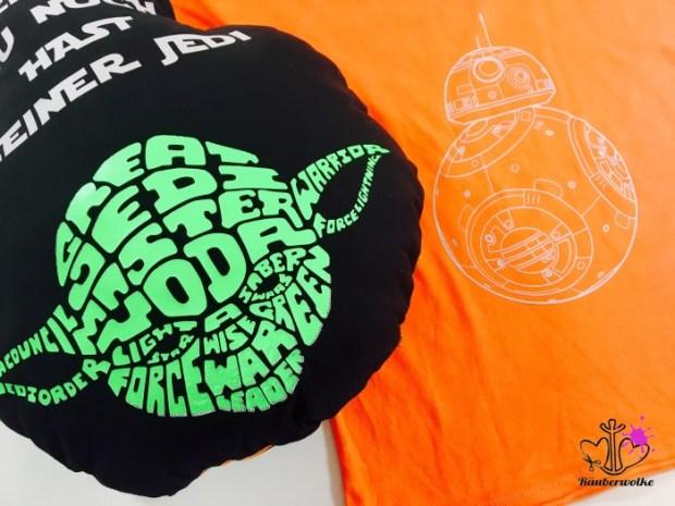 Yoda - Star Wars Kissen // Raeuberwolke.ch - Lebe Bunt.