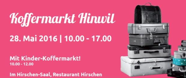 Koffermarkt Hinwil 28.05.16