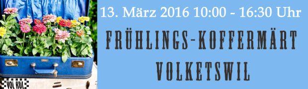 Koffermarkt Volketswil 13.03.16