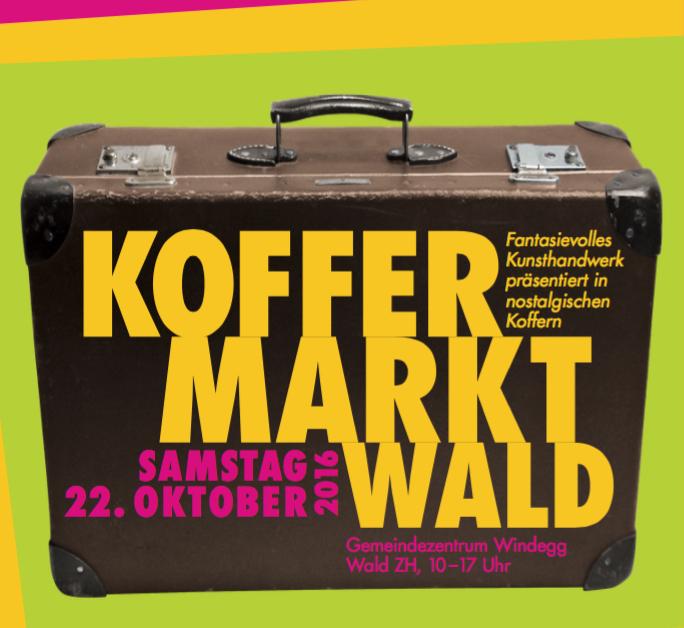Koffermarkt Wald ZH 22.10.16